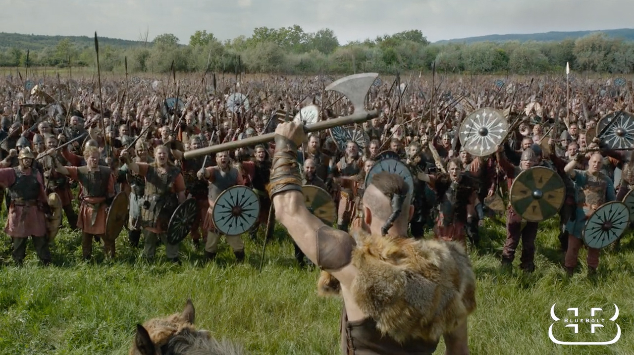 THE LAST KINGDOM - Season 2: VFX Breakdown by BlueBolt - The Art ...