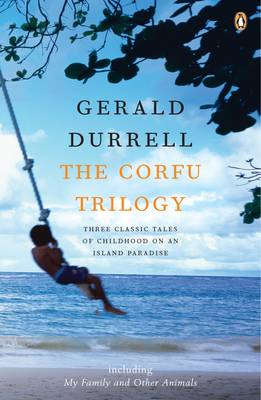 A picture containing text, water, outdoor - the book cover of The Durrells  Description automatically generated